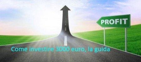Investire 3000 euro