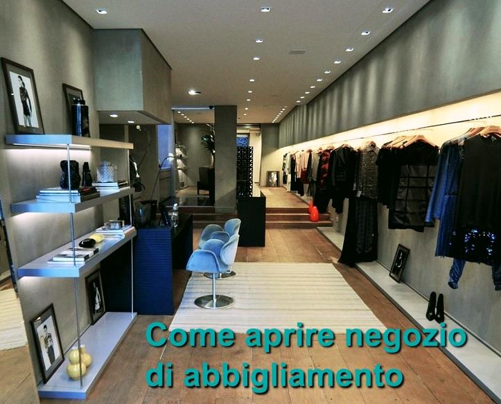 Aprire negozio di abbigliamento