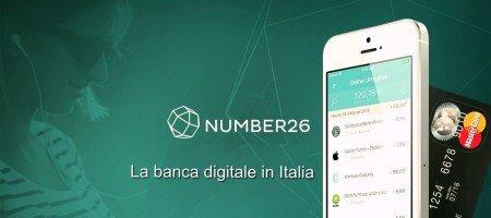 Number26 banca digitale