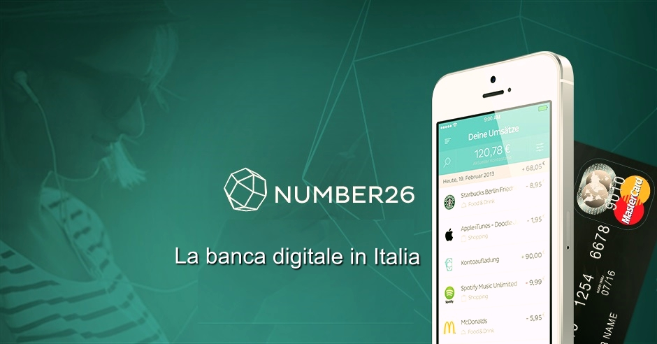 Number26 banca digitale