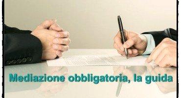 Mediazione obbligatoria