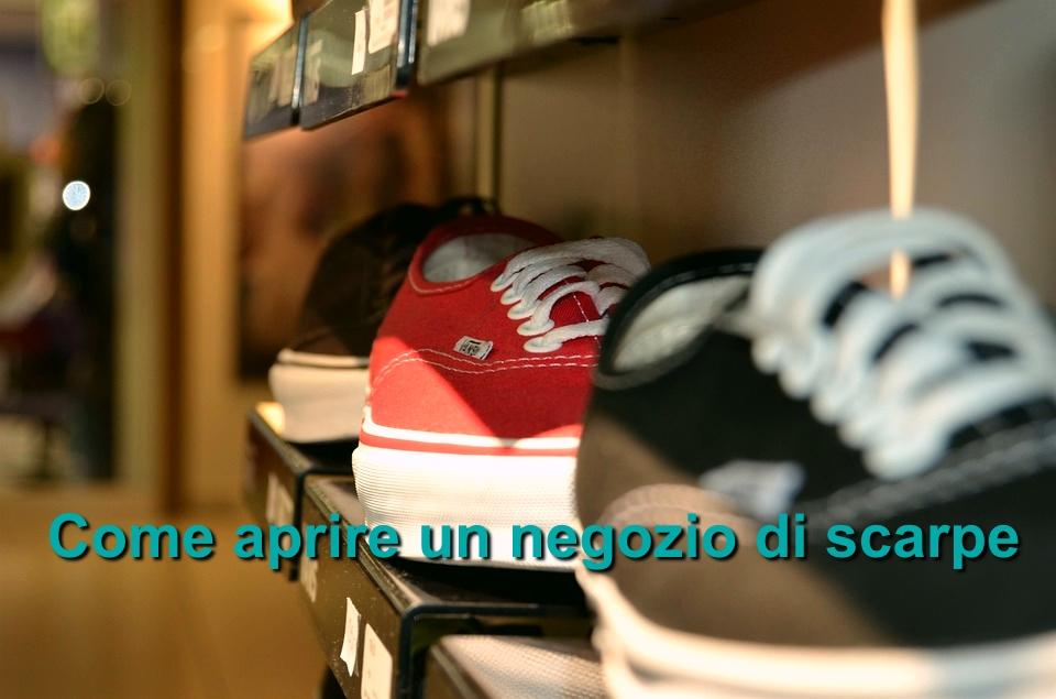 Aprire un negozio di scarpe