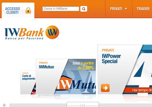 IWbank conto