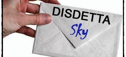 Disdetta Sky decreto bersani