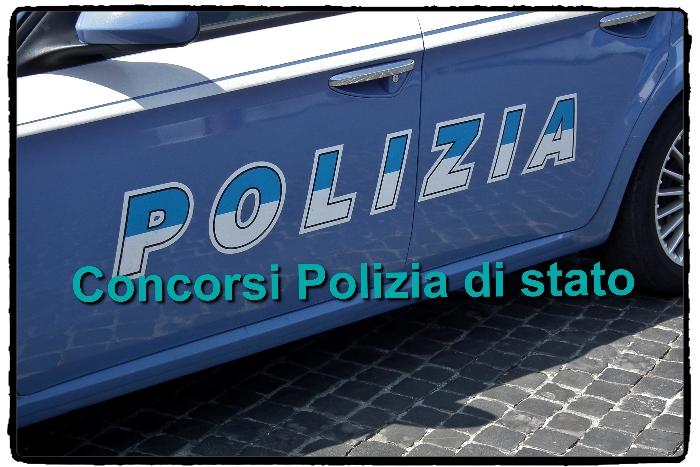 Concorsi Polizia bando