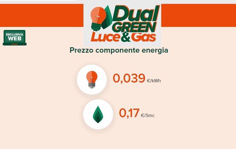 Green Network luce e gas tariffa