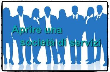 Aprire una società di servizi
