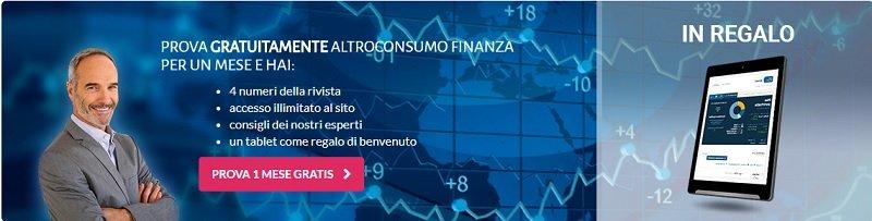 Altroconsumo finanza conviene?